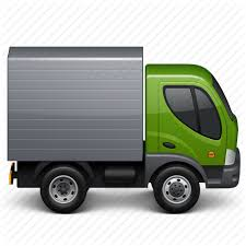 Image result for green delivery truck icon