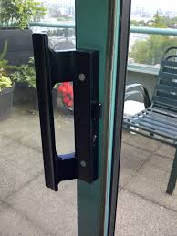 sliding patio door handle sliding glass door latch repair