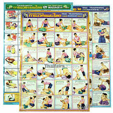 Spa Chart Details About Thai Tradition Massage Body Poster Set Teaching Relax Spa Reflexive Sketch Chart
