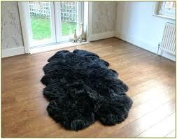 ikea grey sheepskin rug sheep skin