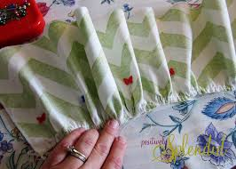ruffled crib skirt tutorial nursery bedding reveal positively splendid crafts sewing recipes and home decor