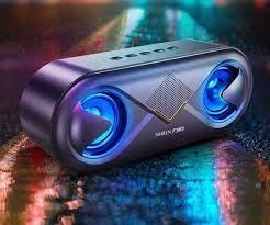 Loa Bluetooth S6, Hiệu Ứng Led Nháy Theo Nhạc, Âm Thanh Sắc Nét, Sống Động  Kiểu Dáng Nhỏ Gọn, Nghe Nhạc Trầm Ấm, Hỗ Trợ USB, Thẻ nhớ, Cổng 3.5mm,