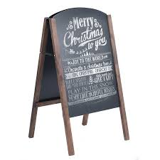 Chalkboard Menu Board 40 Wood A Frame Chalkboard Sign Menu Board Sidewalk Wedding Signage Walmart Canada