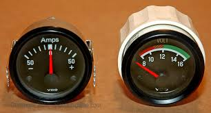 updating to an electrical gauge package hotrod hotline How To Wire An Amp Gauge Diagram my original set of gauges included a 50 amp ammeter that was more than adequate at the time but the addition of a 65 amp alternator recently made the 50 amp Amp Meter Wiring Diagram