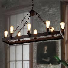 rustic light fixtures rustic 8 light wrought iron industrial style lighting fixtures industrial style lighting rustic chandelier for dining room