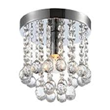 crystal droplets silver chrome ceiling pendant light chandelier fitting lamp zh