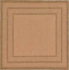 light brown 639 x 639 outdoor square rug area rugs erugs square area rugs 6x6