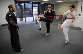martial arts class helps develop physical skills self confidence the spokesman review martial arts instructor jobs