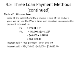 Loan Interest Calculator Unique Lecture Four The Time Value Of Money Pt 44 Ppt Video Online
