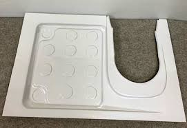 caravan motorhoom shower tray c220 rh to suit thetford c223cs c223s 224cw cassette toilets washroom bathrooms for campervan