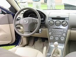 mazda 6 2004 interior. 2004 mazda6 series cockpit mazda 6 interior c