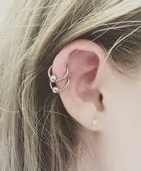 double helix piercing 50 ideas pain