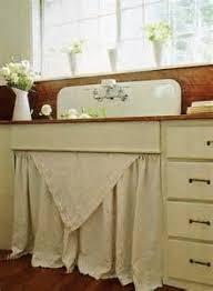 vintage skirted sink expoluzrd