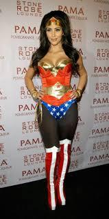 Great Shirt Wonder Woman Kim Kardashian Halloween Costume Beautiful Celebrity  Halloween Costume