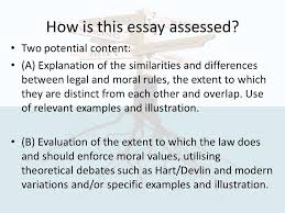 law and morality concepts of law ppt video online how is this essay assessed