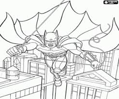 Small Picture Batman coloring pages printable games