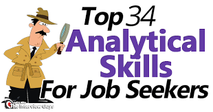 Analytic Skill 34 Top Analytical Skills For Job Seekers