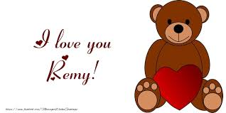 I love you Remy! - Greetings Cards for Love for Remy ...