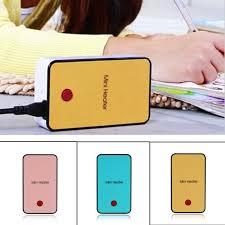 sdfc hot handheld mini heater desktop usb heater electric heater portable office pink durable