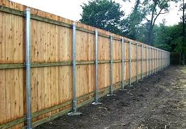 wooden fence posts installing wood fence posts metal fencing posts fence surprising steel ideas porch set