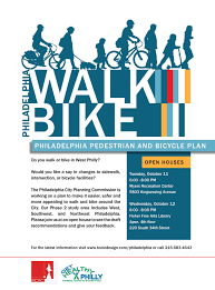 greater philadelphia bicycle news  tonight and tomorrow west philly bike plan open houses