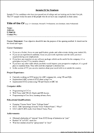 Resume Format For Freshers Pdf One Of Good And Effective Civil
