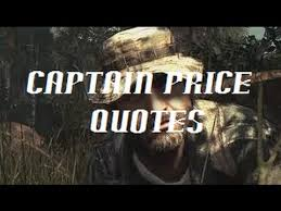 Cod Quotes Delectable Call Of Duty Captain Price Quotes YouTube