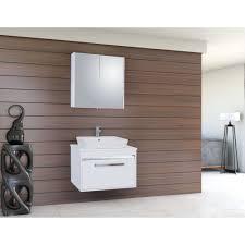 Badmöbel 80cm Unterschrank Spiegelschrank Keramik Waschbecken Next