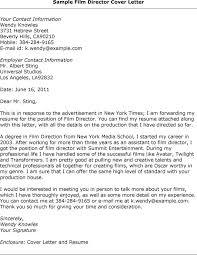 Sample Film Cover Letter Film Director Cover Letter Sample Film Director Flickr