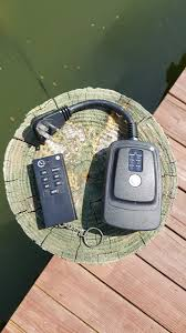 Lake Lite Solar Led Dock Lights This Led Dock Light Photocell Timer Is A Remote Controlled
