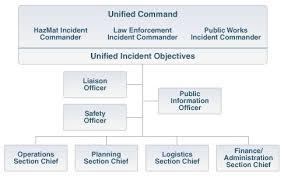 Incident Command Structure Flow Chart Ics Unified Command Organization Chart Bedowntowndaytona Com