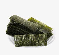 nori sheet nori seaweed seaweed food product kind png image and clipart for