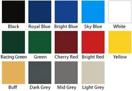 Garage Guard Color Chart Painter In Sydney