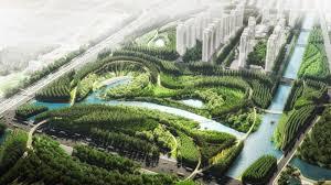 Ecological City Design Sanlin Bund Ecological Park Urban Park Ecology Landscape