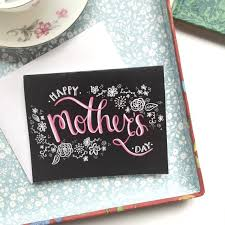 Mothers Day Card Template Magnificent Mothers Day Card Printable DIY Chalk Art Chalkboard Etsy
