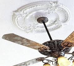 ceiling fan medallions two piece