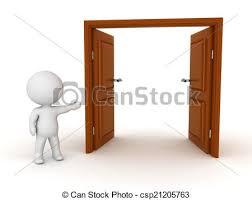 open double doors. Simple Double 3D Character Showing Open Door  Csp21205763 On Double Doors T
