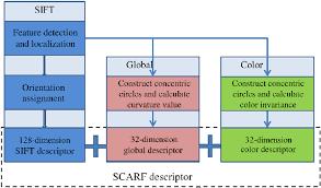 Shape Color Alliance Robust Feature Scarf Flow Chart