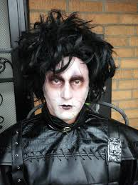 ken byrne as edward scissorhand cincinnati makeup artist jodi byrne 1