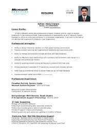 System Engineer Resume Network System Engineer Resume Resume Mobile