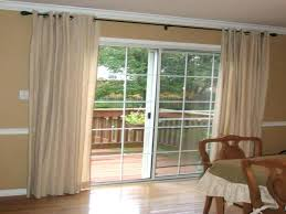 door curtain rod patio