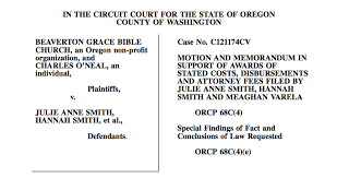 Court Document Templates August 2012 Spiritual Sounding Board