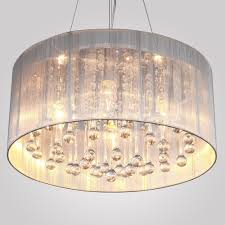 lighting drum shade crystal chandelier with also brushed nickel glamour for contemporary interior home design pendant torchiere lamp replacement ceiling