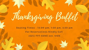 Thanksgiving Buffet At Hilton Melbourne Beach Brevard