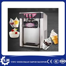 Ice Cream Vending Machines Classy 48 48LH Soft Serve Ice Cream Machine Table Ice Cream Vending