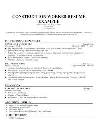 General Labor Resume Template General Labor Resume Template Elegant