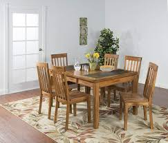 Sunny Designs Dining Chairs Sunny Designs Sedona Dining Table With Slate Top