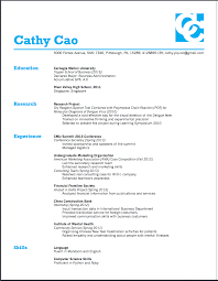 Standard Font Size And Style For Resume The Proper Use Of Fonts In