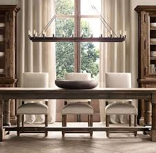 rustic country dining room ideas. Elegant Crystal Chandelier Design For English Country Dining Room Ideas With Rustic Table