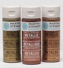 Martha Stewart Crafts Metallic Paint